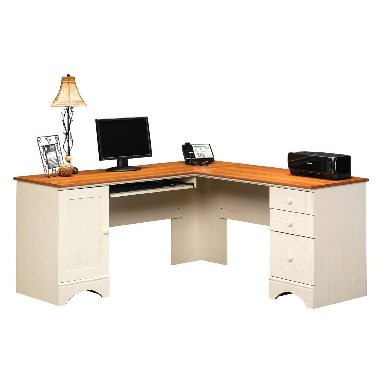 Corner Computer Desk: Sauder Corner Computer Desk, Rustic Computer Desk, Free