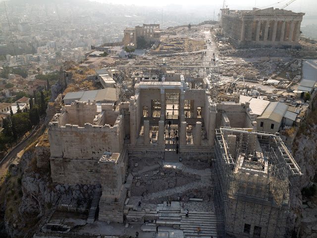 Restoration of Athenian Acropolis monuments national priority for Greece: official