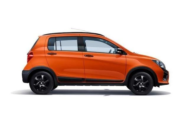 New 2017 Maruti Suzuki Celerio side angle image