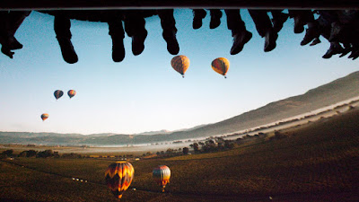 Soarin Over California Balloon Scene