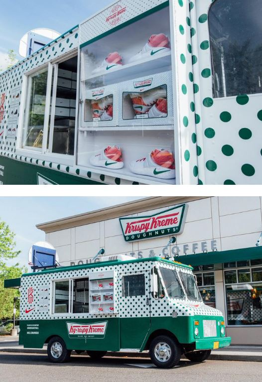cheap for discount 8d0d8 c3ced Nike and Krispy Kreme Team Up for Kyrie Irving Shoes with an awesome  Ky-Rispy Kreme truck makes its way across the country. You can try getting  your own ...