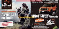 Logo Concorso ''Avventura No Limits'' vinci buoni spesa da 50€ e Jeep Renegade