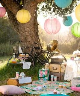 piknik na zahrade