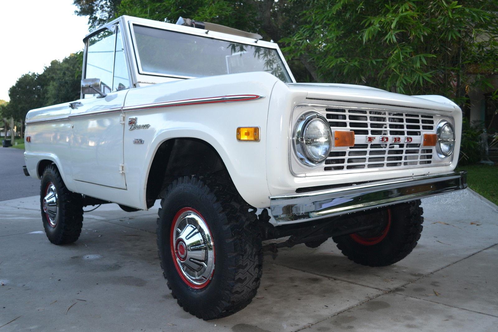 1975 ford bronco ranger 2 door compact suv