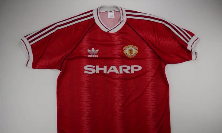best website 64562 aa165 Here Are All Manchester United 1990s Kits - Footy Headlines