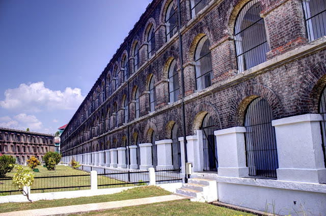 Port Blair Cellular Jail, during the war