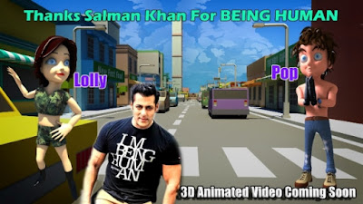 thanks-salman-khan-for-being-human-3d-animated-video-to-be-launched-soon