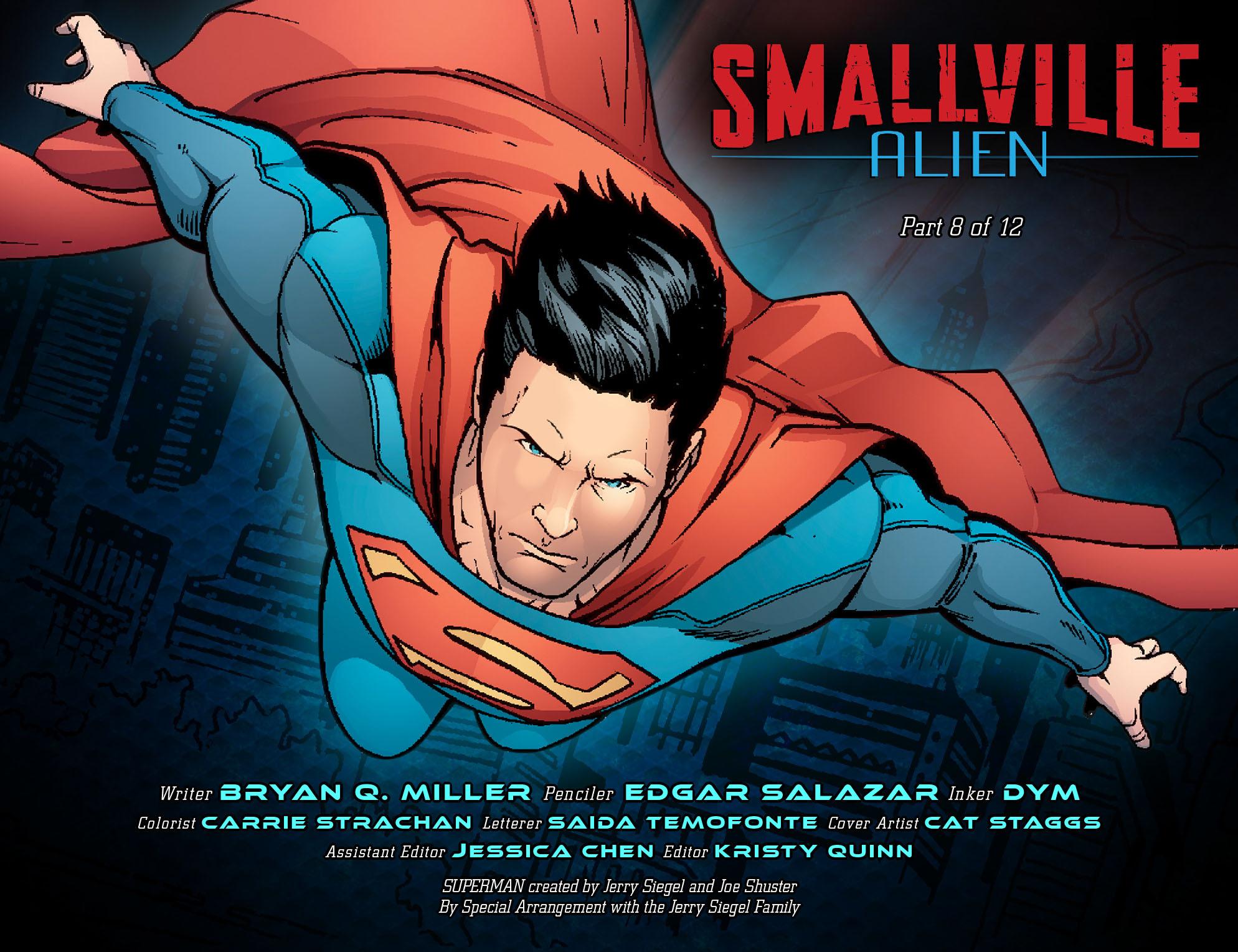 Read online Smallville: Alien comic -  Issue #8 - 2