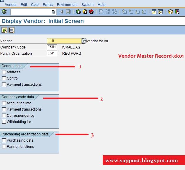 VENDOR MASTER | SAP MM, ARIBA, S4 HANA Simple Logistics, Simple Finance