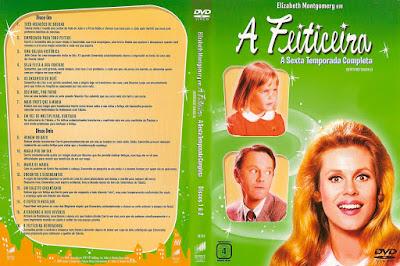 Série A Feiticeira 6º Temporada DVD Capa