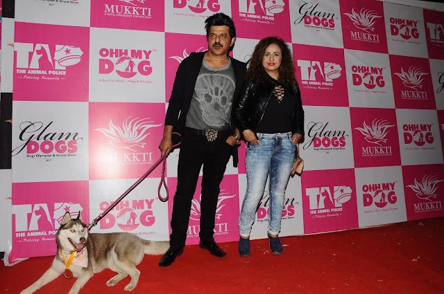 24. Rajesh Khattar with Vandana Sajnani