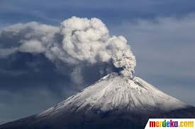 Bencana Gunung Meletus | Kata kata Mutiara, Puisi Dan Pantun