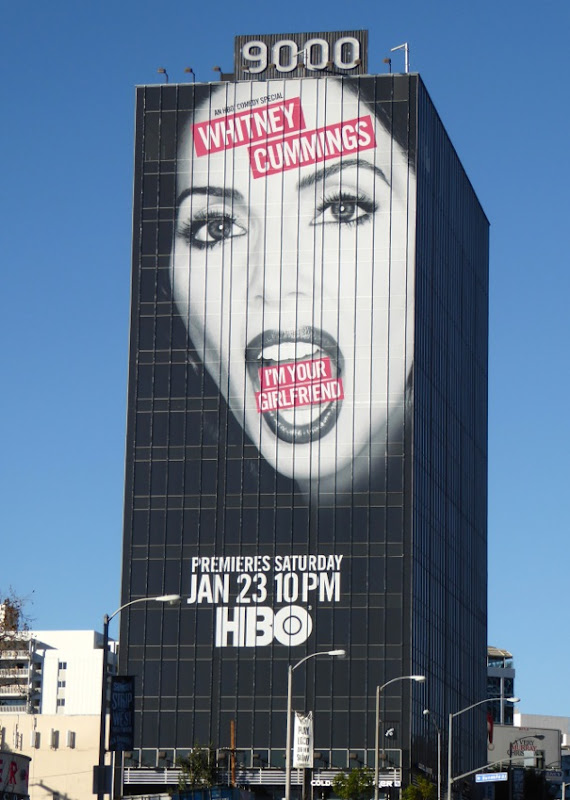 Whitney Cummings I'm your Girlfriend comedy special billboard
