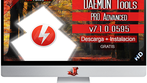 DAEMON Tools PRO Advanced v7.1.0.0595 FULL ESPAÑOL | 2016