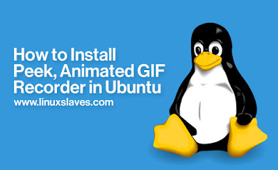 Create Animated GIF on Ubuntu Linux