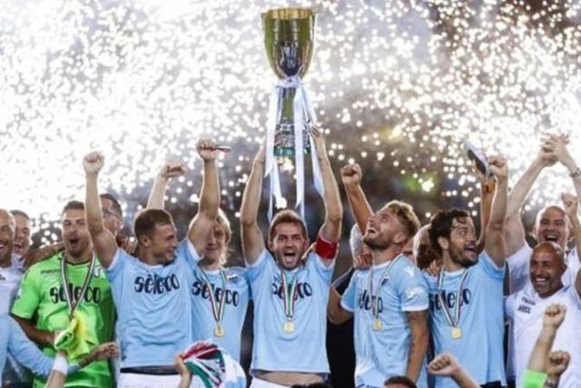 Tundukkan Juve, Lazio Juara Piala Super Italia