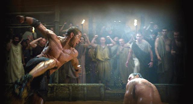 Scenă de luptă din filmul Hercules: The Legend Begins