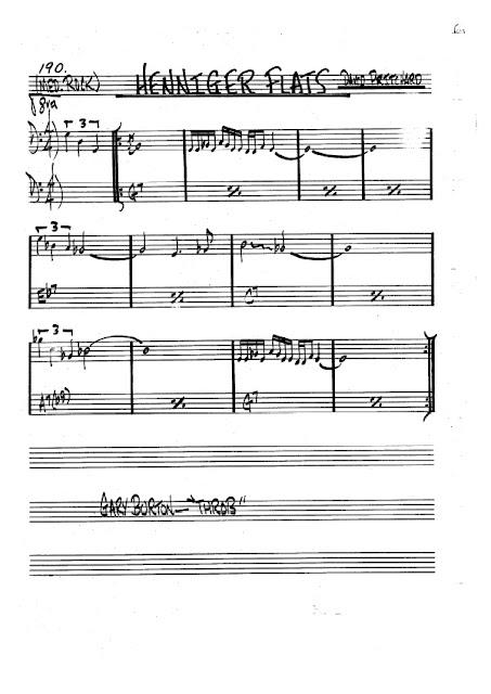 Partitura Trombón David Pritchard