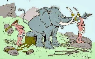 Comic Bilder lustige - Steinzeit witzig