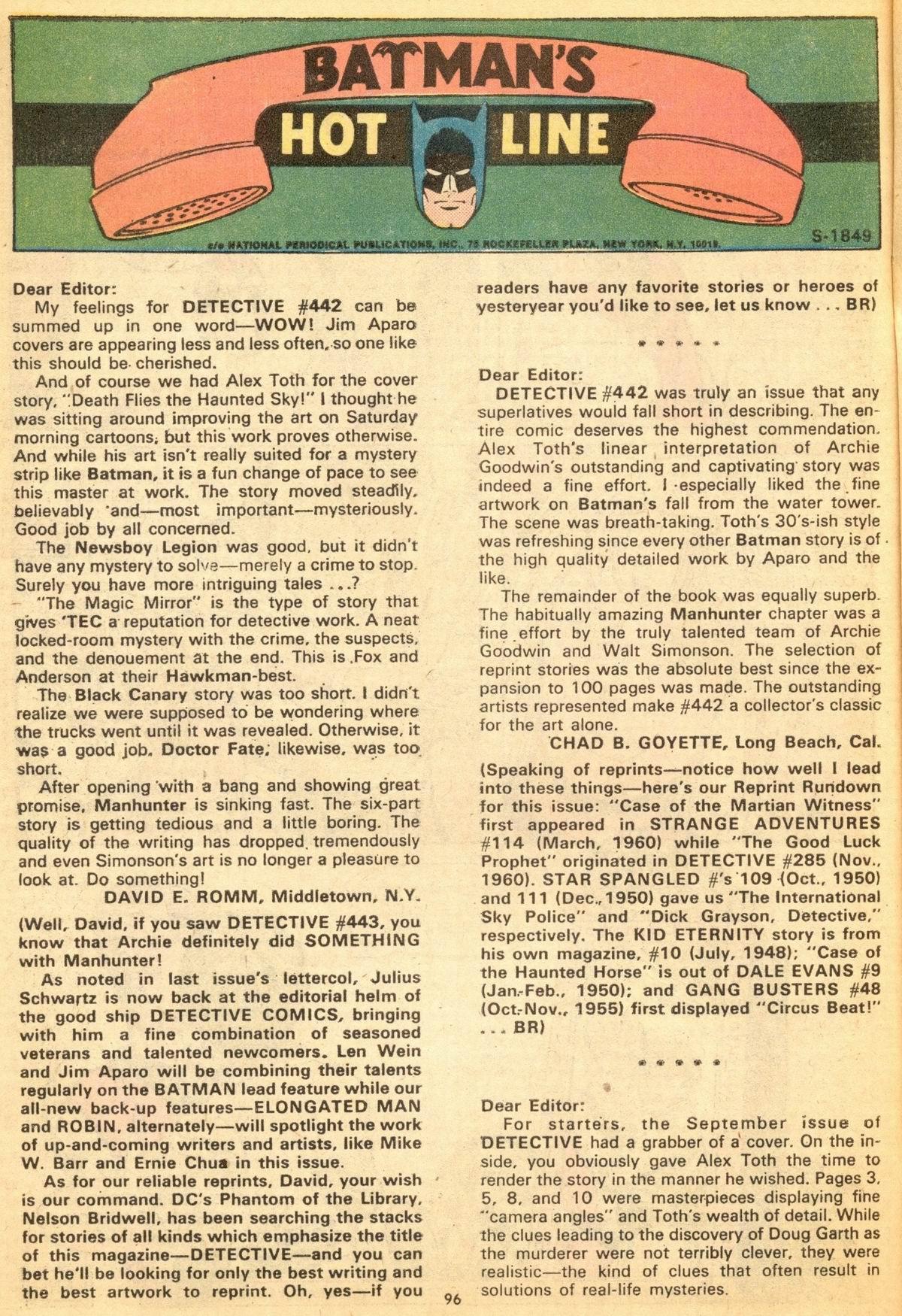 Detective Comics (1937) 444 Page 95