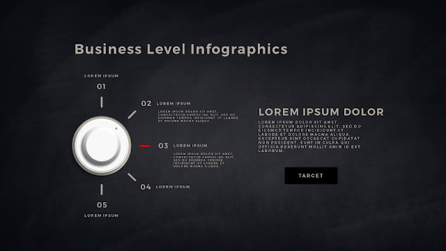 Business Level Infographics Free PowerPoint Template Slide 4