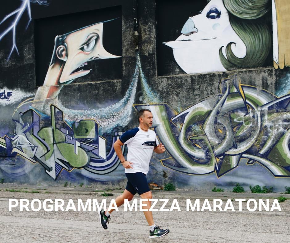 programma mezza maratona