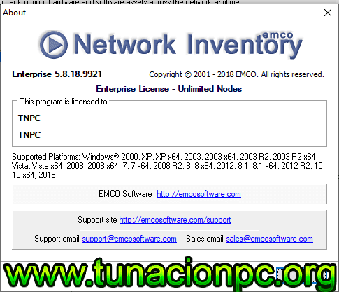 EMCO Network Inventory Enterprise gratis con serial