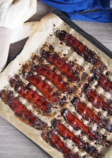 maple coffee glazed bacon recipe, maple coffee bacon ideas, bacon and coffee ideas, when bacon meets coffee, bacon coffee love