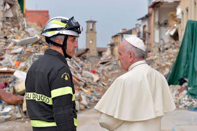 olaszországi földrengés, Amatrice, Ferenc pápa, Olaszország, Vatikán,