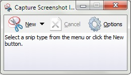 Alternatif Snipping Tool Windows 7 Starter & Home Basic