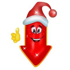 Risultati immagini per freccia natalizia