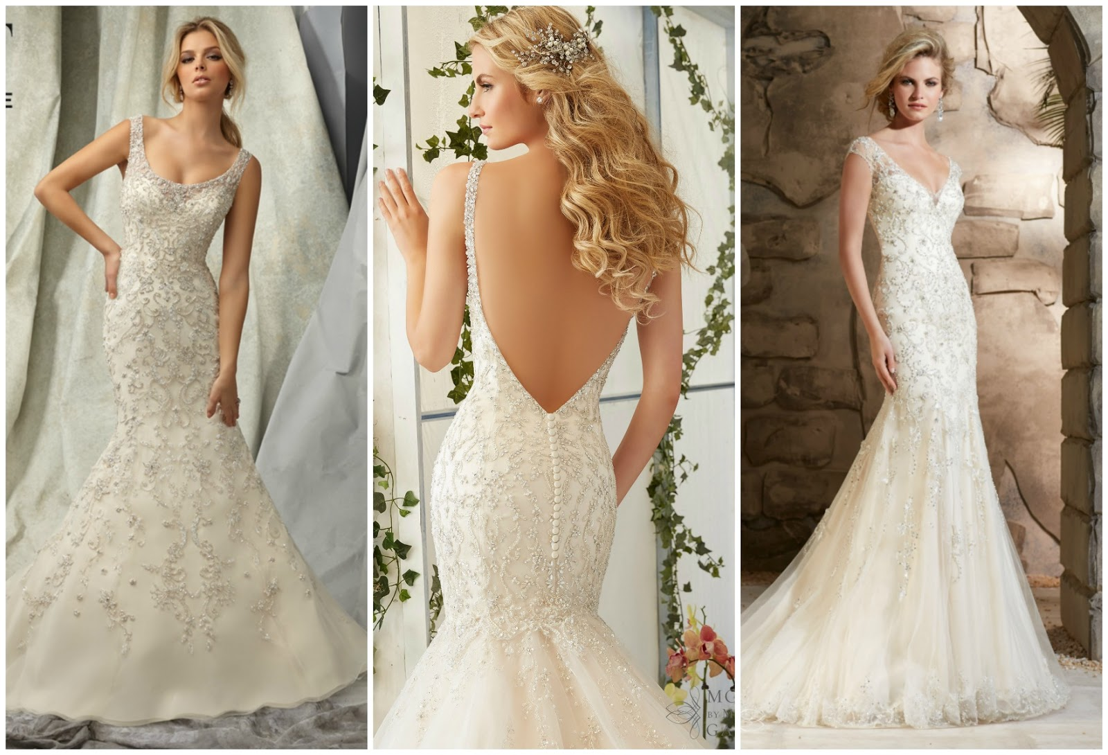 Brides Love Our Wedding Dresses With Elegant Crystals And Beading