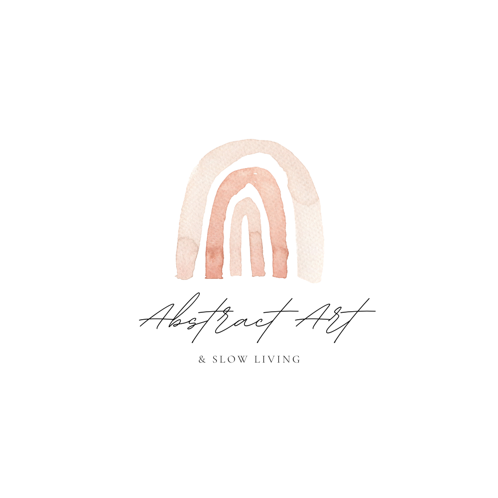Abstract art & slow living