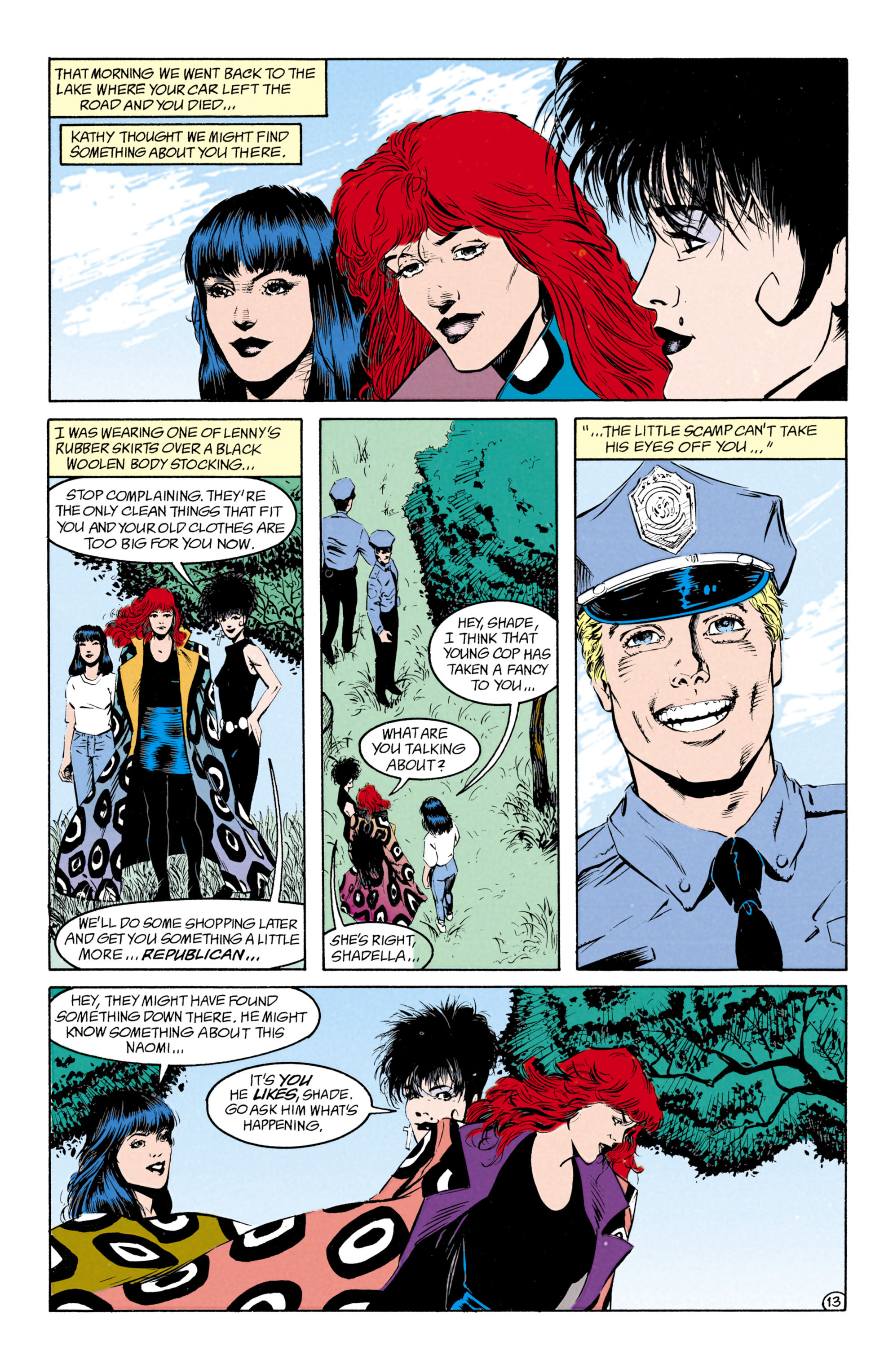 Read online Shade, the Changing Man comic -  Issue #27 - 14