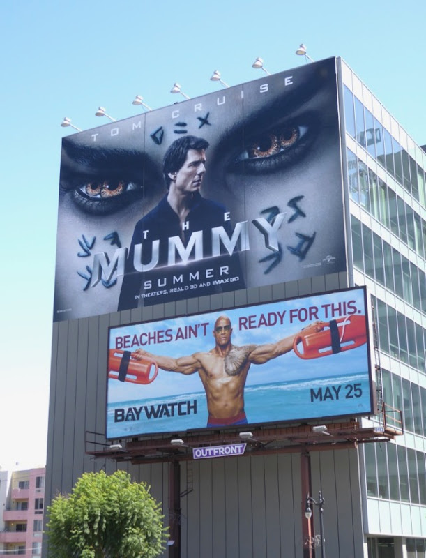 Mummy 2017 movie billboard
