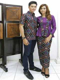model baju batik tuk pesta