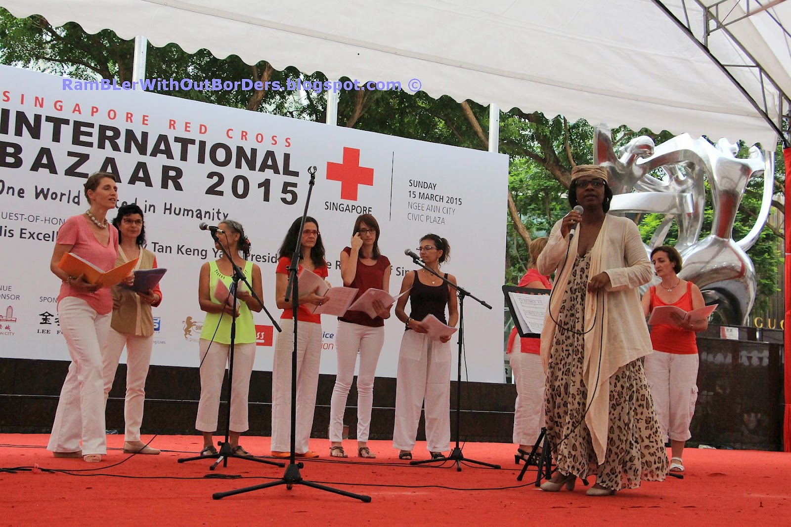 Christian Choir, Singapore International Red Cross Bazaar 2015