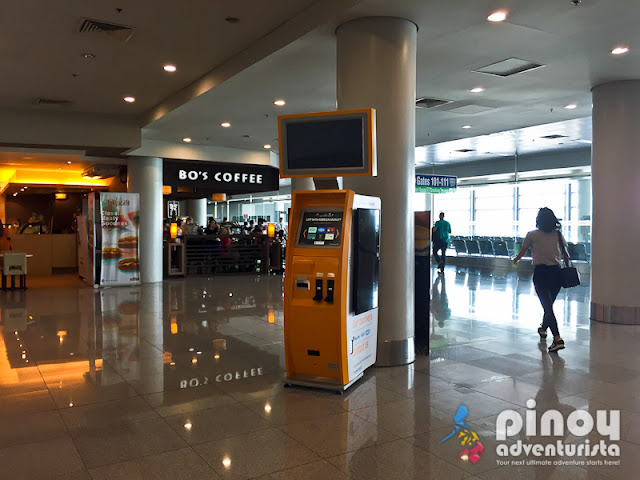 TravelersBox Kiosks in NAIA Manila Philippines