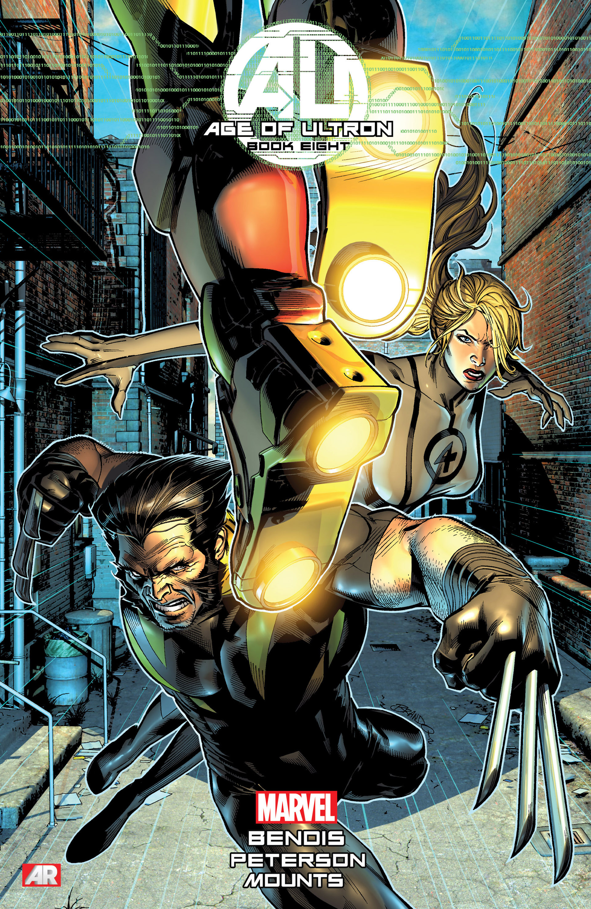 Read online Age of Ultron comic -  Issue #8 - 1