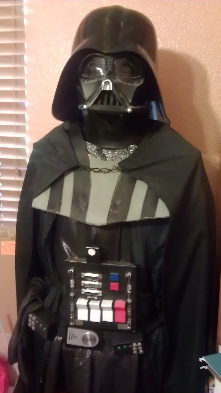 Home made Darth Vader Costume | A Constantly Racing Mind
