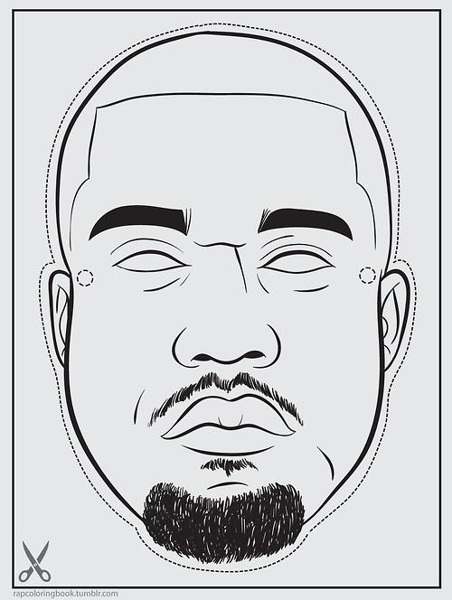 A C T U A L L Y: Bun B's Jumbo Coloring and Rap Activity