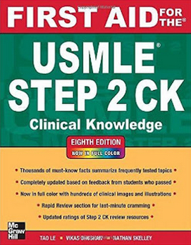 First Aid for the USMLE Step 2 CK 8th Edition (2012) [PDF]