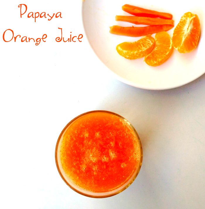 papaya-orange-juice