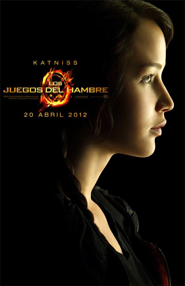 Poster de Los Juegos del hambre Katniss Jennifer Lawrence