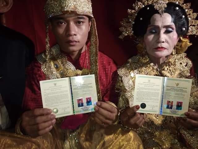 Kisah Pernikahan Pemuda Enrekang dan Janda 65 Tahun, Inade Pernah Tolak Lamaran 5 Duda