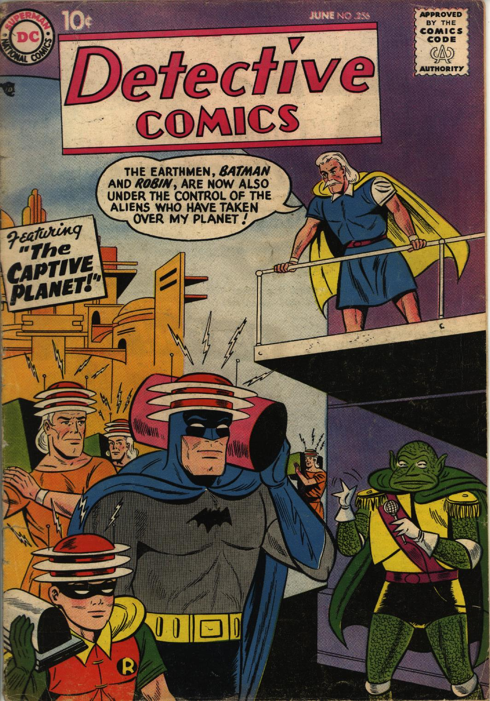 Detective Comics (1937) 256 Page 0