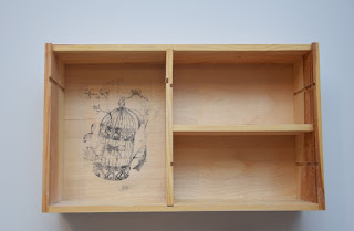 Transfer na drewnie DIY