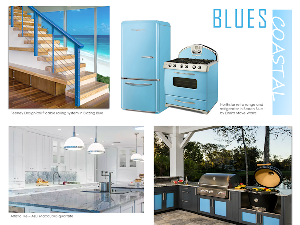 Coastal Blues Are Top Color Trend