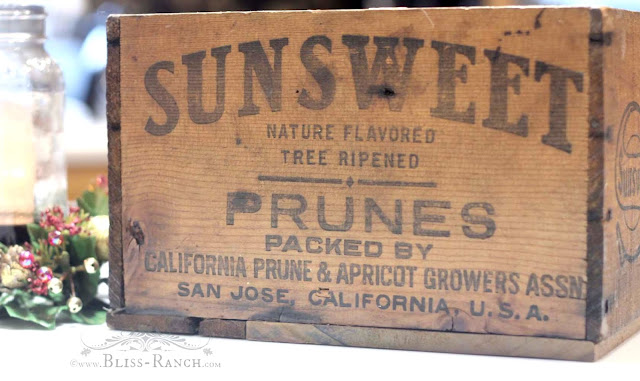 Prune Crate, Bliss-Ranch.com