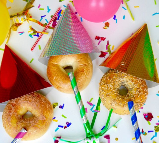 Image result for bagel birthday